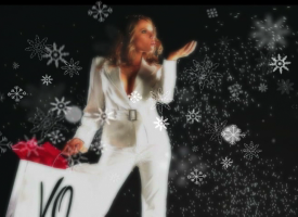 Blanca Navidad. Galerías Valle Oriente.